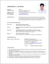 Beautiful Currently Working Resume Format 129187 Resume Format Ideas