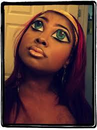 it s a bratz doll makeup tutorial this is legit