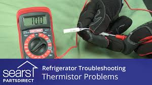 Ge Refrigerator Thermistor Chart Troubleshooting Thermistor Problems In Refrigerators