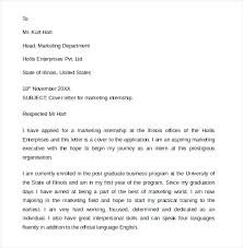 Cover Letter Computer Science Internship How To Write A Internship Cover Letter Marketing Sample Computer