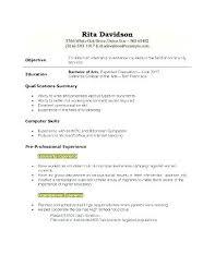 Part Time Job Resume Sample New Part Time Job Resume Resume For Part Time Job Student Job Resume