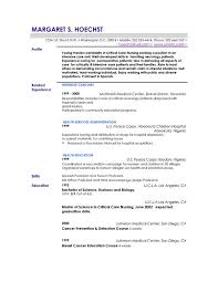 Example Of Resume Profile Statement Namibia Mineral Resources