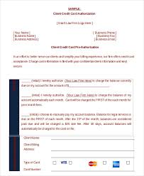 credit card authorization form template 10 sample example client credit card pre authorization form
