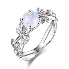 Amazon Com Letdown_rings Exquisite Womens Silver Ring