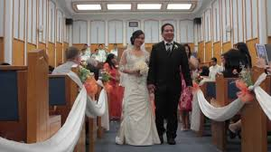 Elaine Rolly Wedding Ceremony At Church Of Christ Youtube