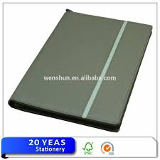 Leather Resume Folder Cheap Leather Pocketcertificate Folder For Interview Buy 3