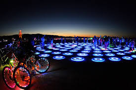 Best Burning Man Bike Lights Never Been To Burning Man Heres What You Need To Know