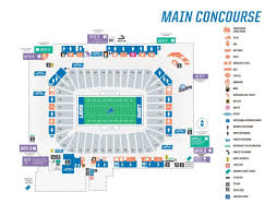 Moody Theater Seating Chart Rows Seating Maps Ford Field Intended For Michigan Football