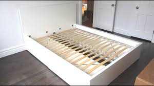 ikea malm platform bed with 4 storage