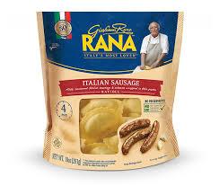 italian sausage cheese ravoli