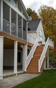 second story deck deck srs pillars i want mine trimmed