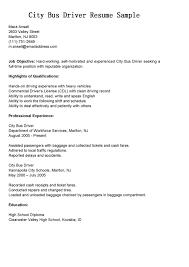 Sample Cover Letter For Bus Driver Resume Juzdeco Com
