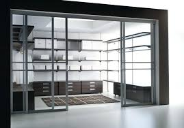 small walk in closet door ideas sliding doors hardware metal change