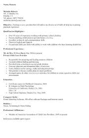 Objective For A Nanny Resume This Is Sample Nanny Resume Cover Letter For Nanny Nanny Cover 86