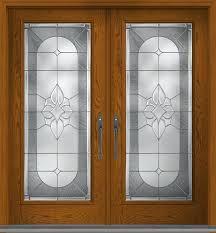 fiberglass exterior double doors full lite w stile lines oak fiberglass exterior double door fiberglass exterior
