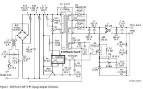 laptop power supply adaptor circuit laptop power supply adaptor circuit schematic electronic circuits diagram wiring design plans schema diy projects handbook guide tutorial
