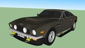 aston martin v8 james bond. large preview of 3d model 1985 aston martin v8 vantage-james bond-the james bond
