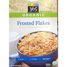 organic frosted flakes organic corn cereal