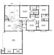 1500 sq feet house plan in india awesome ranch style house plan 4 beds 2 00