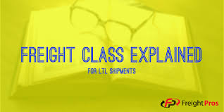 Freight Classification Chart Freight Class Explained A Guide To Understanding Ltl