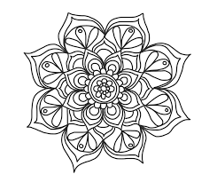So don't wait any longer and start the fun with the whole family. Flower Mandala Coloring Pages Coloring Rocks