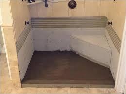 diy custom shower base making a shower pan making a tile shower pan a fresh creating a tile shower base