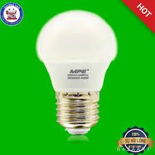 Bóng đèn Led Bulb ( đèn nấm) MPE 3W ánh sáng vàng trang trí quán cafe giảm  chỉ còn 29,000 đ