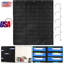 Heavy Duty File Organizer 30 Pockets 5 Over Door Hangers