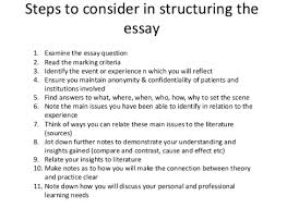 how to write a personal reflection essay quora good luck