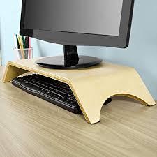 office desktop computer. Interesting Office SoBuy Desktop Computer Monitor StandWood Arch Shelf Holder BracketFRG98N Throughout Office T