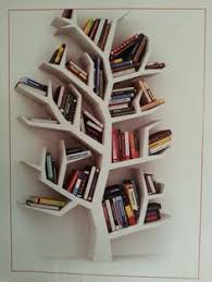 Wall Mural tree, book, education - tree of knowledge. bookshelf on white  .  Easy Installation  365 Day Money Back Guarantee  Browse other  patterns ...