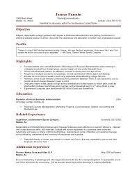 Student Athlete Resume Cool Student Athlete Resume JmckellCom