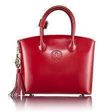 Abigail Riggs First Lady Series Purse in Patent Leather - Small