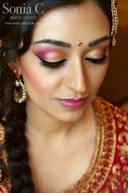 south asian bridal makeup look indian