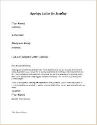 Brilliant Ideas of How To Write An Apology Letter For Stealing Money With Additional Worksheet