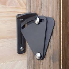 sliding barn door locks.  Door WinSoon Big Size Pull Door Black Solid Cast Cron Sliding Barn Gate  Lock Latch For Locks R