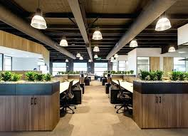 industrial office decor. Industrial Look Office Interior Design Compact Style Offices . Decor E