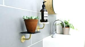 shelves without drilling wall large of charming used a metal handrail is this project because it bonds well mount shelf non holes for f