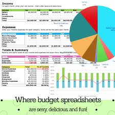 Budgeting For A Family Of 4 Track Your Money With The Free Budget Spreadsheet 2019 Squawkfox