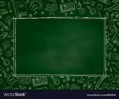 School Chalkboard Background Back To School Chalkboard Background Royalty Free Vector