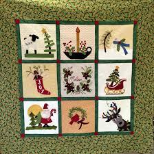WOOL APPLIQUE CHRISTMAS QUILT BLOCK OF THE MONTH W/PAULA K &  Adamdwight.com