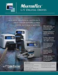 Masterflex L S Digital Drives Brochure Cole Parmer
