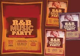 Party Flyer Stunning RB Music Party PSD Flyer Free Photoshop Brushes At Brusheezy