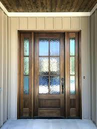 exterior door glass inserts stained