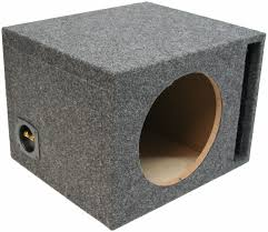 single 12 inch ported subwoofer box car audio stereo bass speaker car audio box software at Car Audio Box