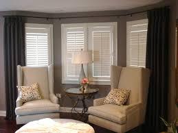 how to put bay window curtain rods curtain menzilperde net