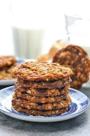 The best recipe for chewy oatmeal cookies is not on the back of the oat canister. Easy Oatmeal Cookies With Ginger And Molasses The Seasoned Mom