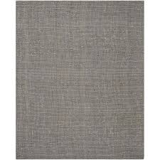 safavieh natural fiber light grey area rug 8 x 10