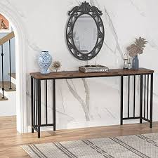 tribesigns rustic long console