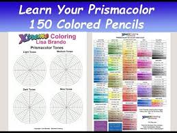 150 Prismacolor Pencils Chart Easy Learn Your Prismacolor 150 Colored Pencil Set With Worksheets For Tones And More Lisa Brando
